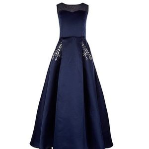 Size 8 girls navy gown